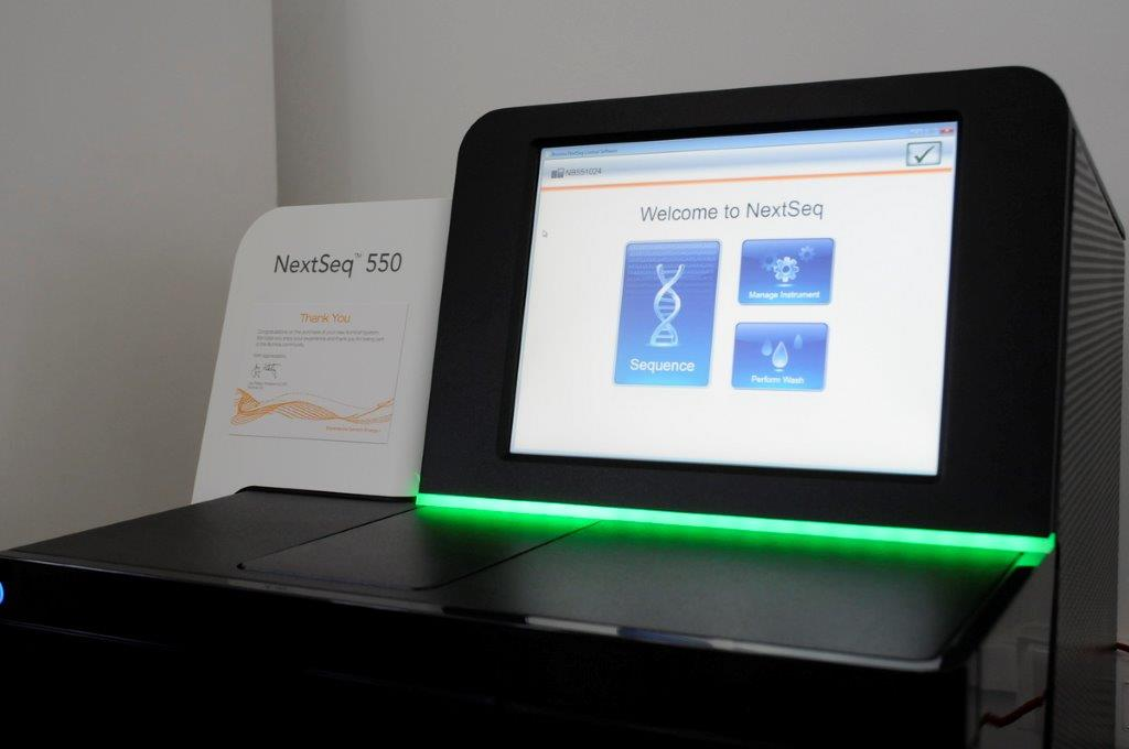Equipo NextSeq 550 Sequencing System