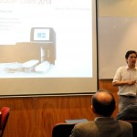 Dr. Ricardo Verdugo, presentando el proyecto