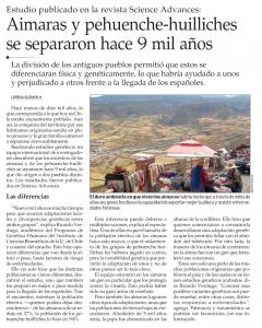 181203 El_Mercurio_Página_A9 - Aymara-Pehuench-Huuilliche Altura Lindo - recorte